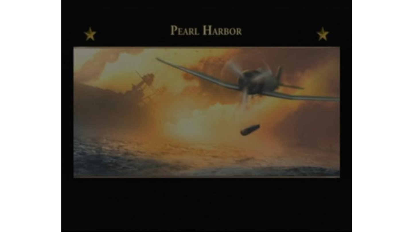 Pearl Harbor mission loading screen