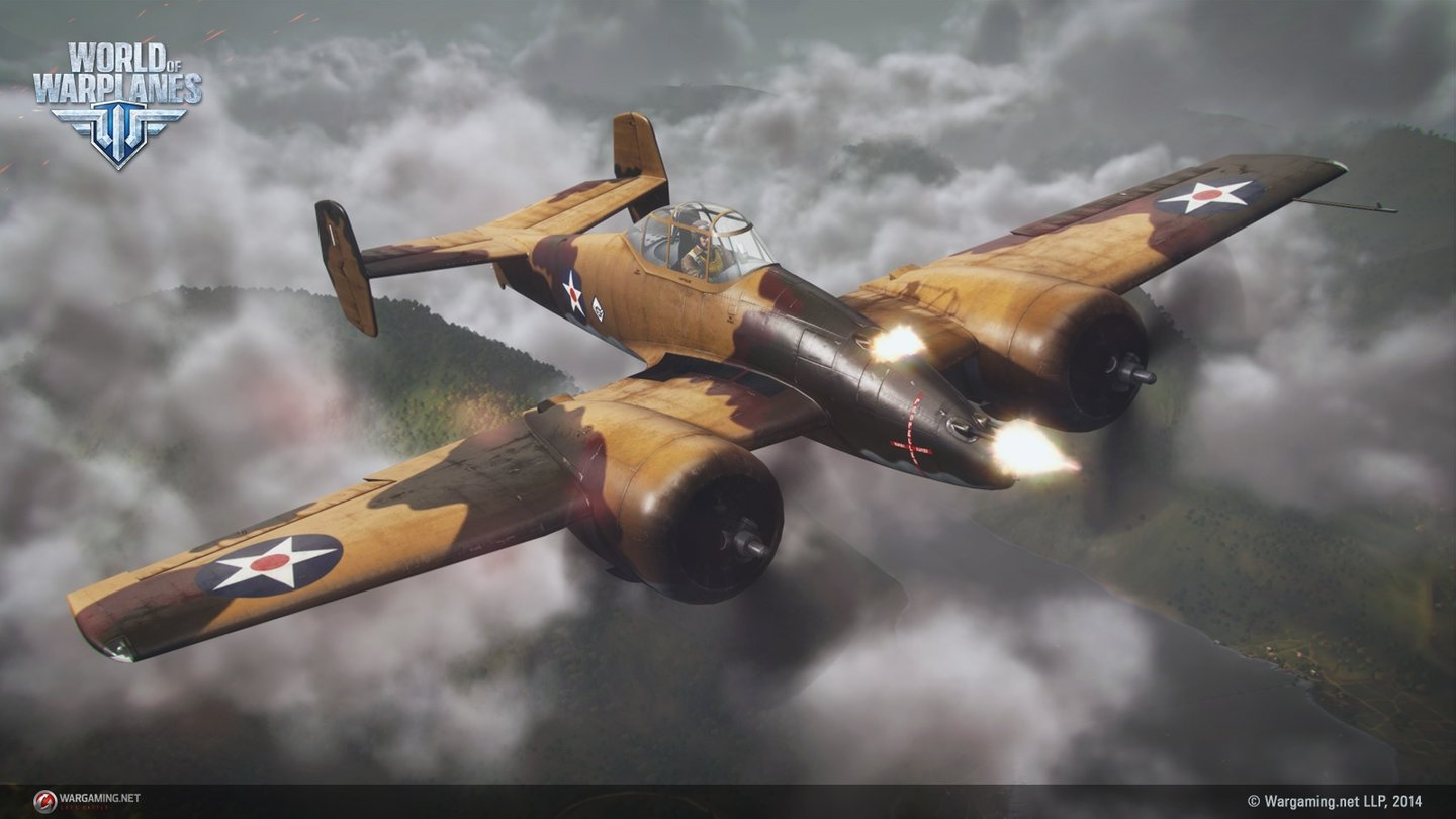 World of Warplanes - Bilder zum Update 1.4