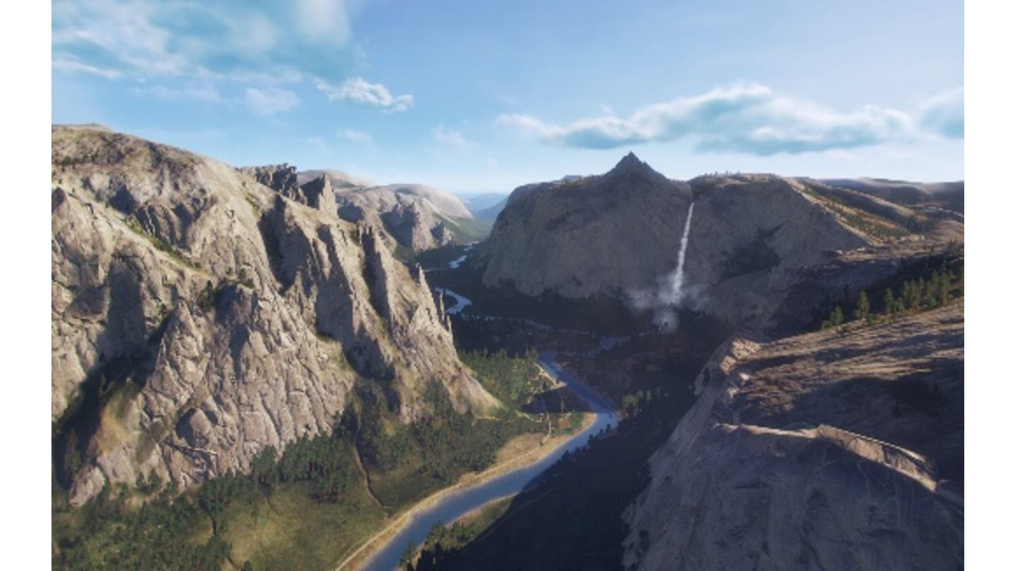 World of Warplanes - Bilder zum Update 1.5 (National Park)