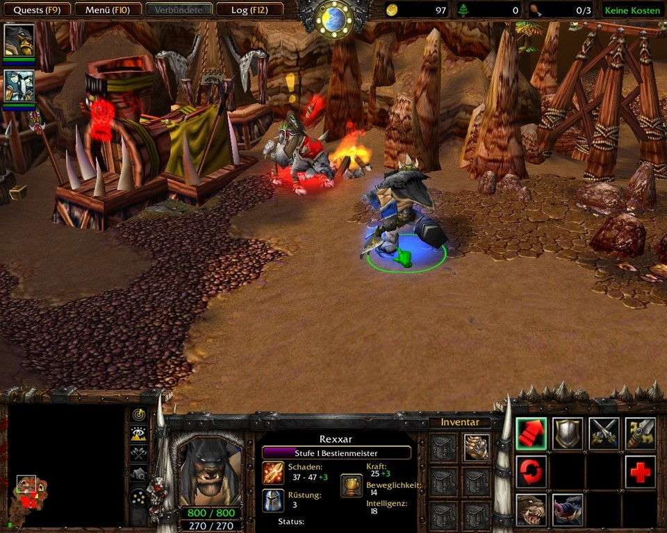 Warcraft 3: The Frozen Throne - Die Zähmung eines Landes