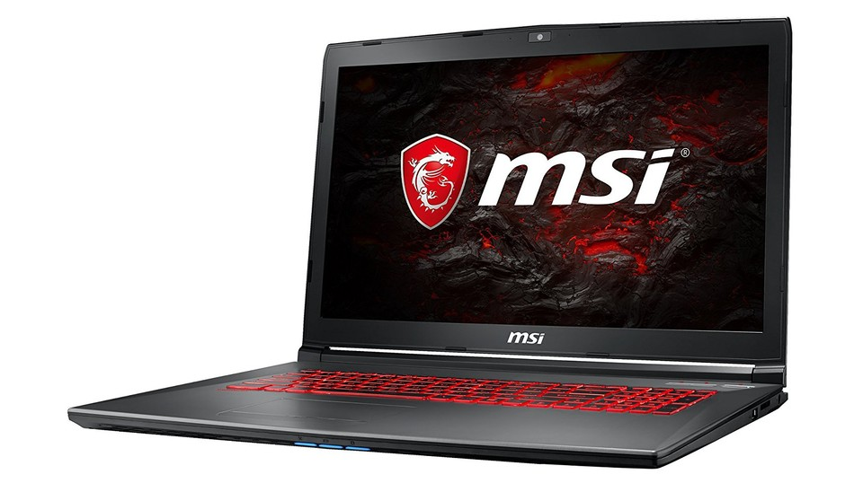 MSI GV72VR Gaming-Notebook im Blitzangebot.