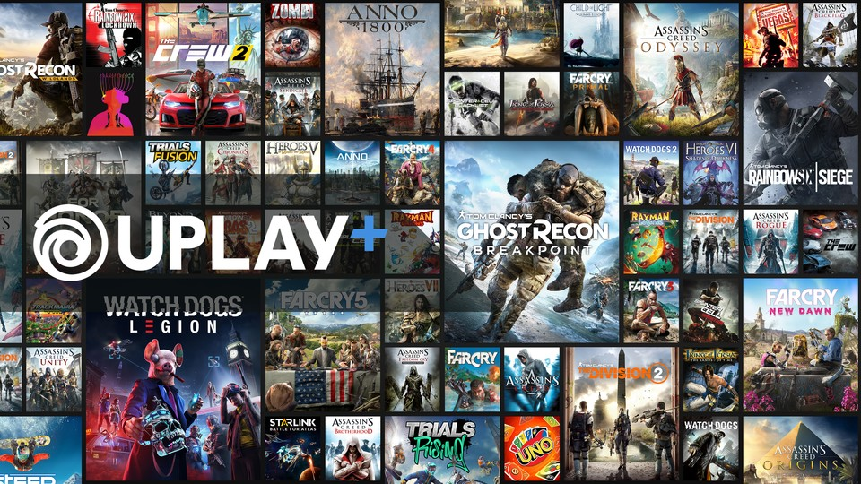 Uplay Plus will dem Microsoft Game Pass Konkurrenz machen.