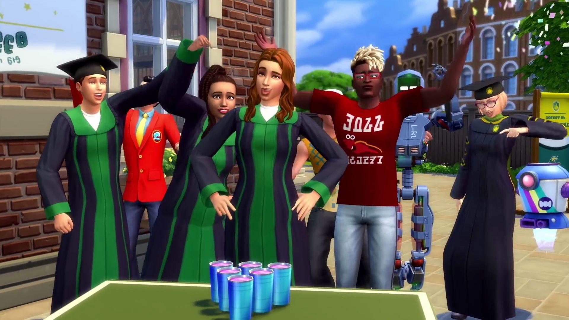 """Die Sims 4 - Die neue Erweiterung """"An Die Uni!"""" lässt eure Sims studieren"""