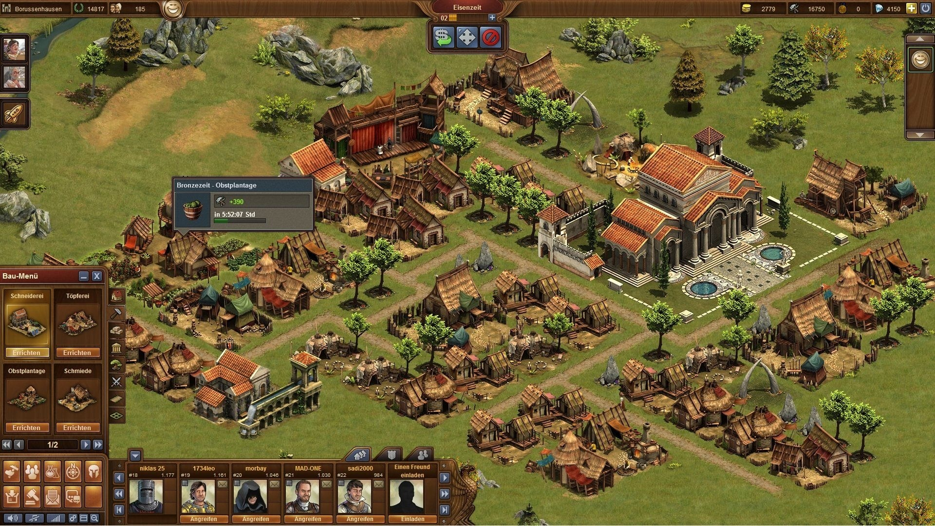 Forge Of Empires Platzsparend Bauen