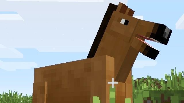 Minecraft Ein Klotz Den Sie Pferd Nannten GameStar - Minecraft flussig spielen