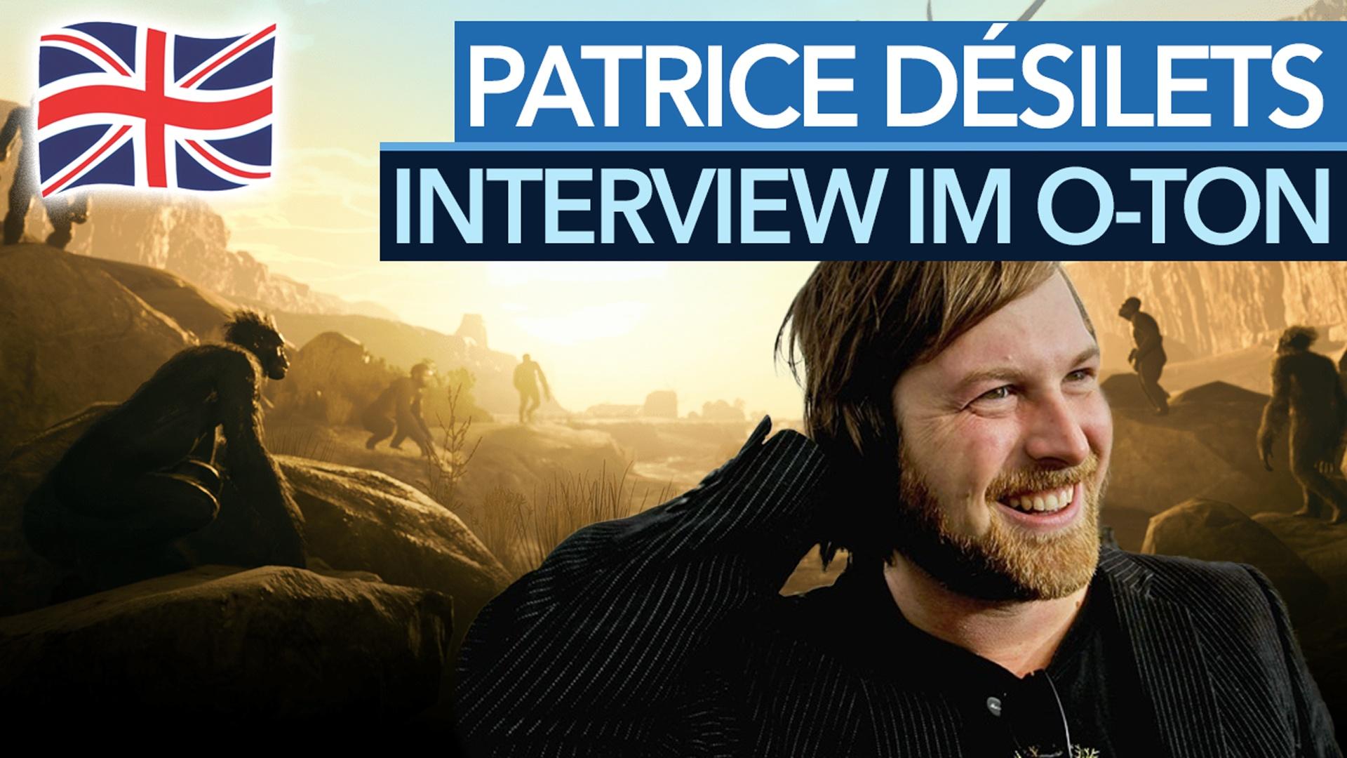 Weg von den Assassinen, hin zu den Affen - Interview mit Patrice Désilets im O-Ton