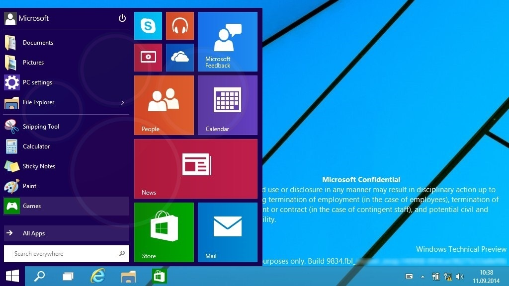 Windows 9 - Viele Features stammen von Windows Phone