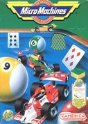 Cover zu Micro Machines - NES