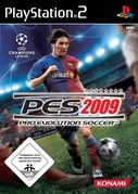 Cover zu Pro Evolution Soccer 2009 - PlayStation 2