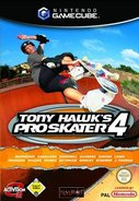 Cover zu Tony Hawk's Pro Skater 4 - GameCube