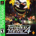 Cover zu Twisted Metal 4 - PlayStation
