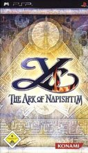 Cover zu Ys: The Ark of Napishtim - PSP