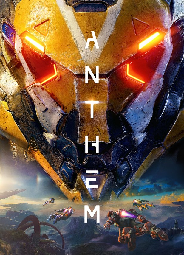 Das Key-Artwork zu Anthem.