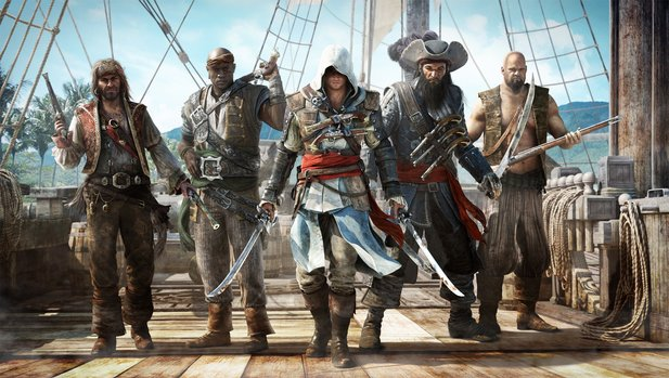 In Assassin's Creed 4: Black Flag dürfen wir Pirat sein.