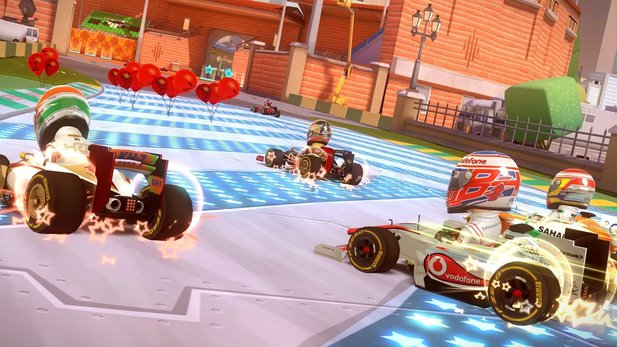 F1 Race Stars: Powered Up Edition für die Wii U ist da.