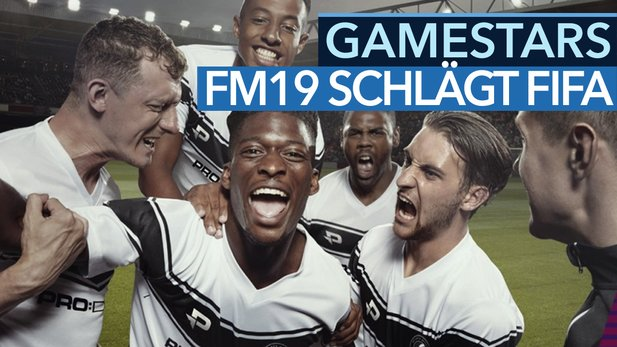 Football Manager 2019 schlägt FIFA - Video: Sensation bei den GameStars