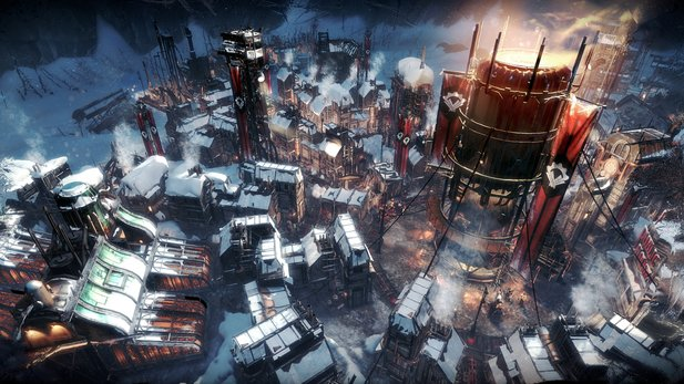 Eisige Temperaturen gibt's in Frostpunk.
