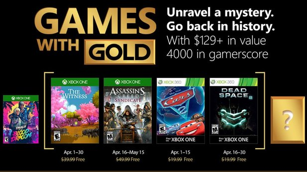 Games With Gold im April 2018