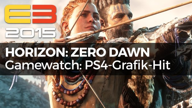 Gamewatch - Horizon: Zero Dawn - Video-Analyse: PS4-Grafik-Hammer von den Killzone-Machern