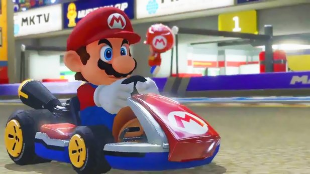 Gameplay-Trailer von Mario Kart 8