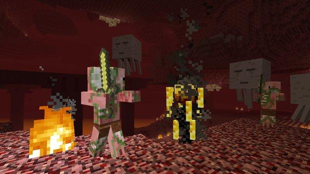 Minecraft Spielen Deutsch Minecraft Ps Pc Zusammen Spielen Bild - Minecraft ps4 pc zusammen spielen