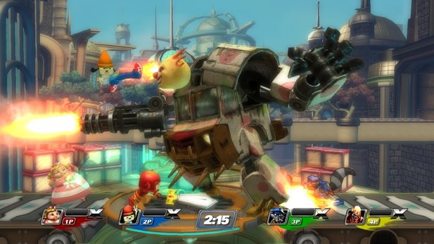 PlayStation All-Stars Battle Royale erscheint auch für PlayStation Vita.