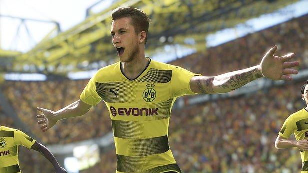 Pro Evolution Soccer 2018 tritt wie jedes Jahr gegen den Erzrivalen FIFA 18  an. Wie 3d9825e06594a