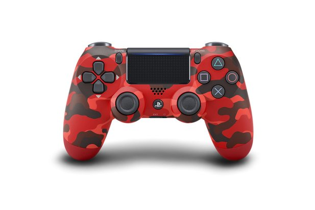 Dualshock in Red Camouflage