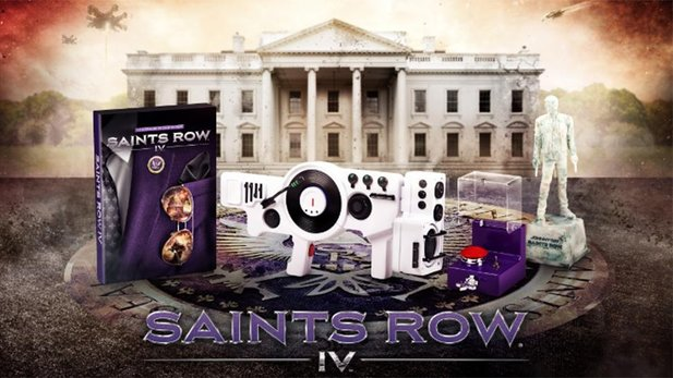 Die »Super Dangerous Wub Wub Edition« von Saints Row 4.