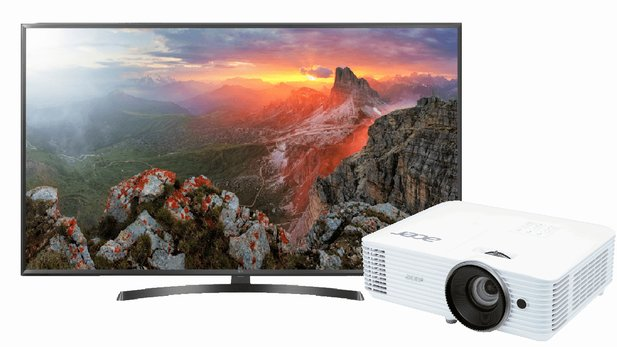 4K-Fernseher und Beamer zu Bestpreisen - TV-Angebote bei ...