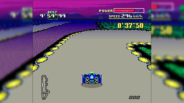 Mode-7-Grafikeffekte: F-Zero