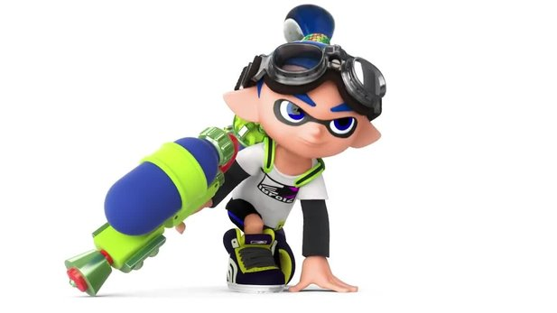 Splatoon - Launch-Trailer mit allen Gameplay-Inhalten
