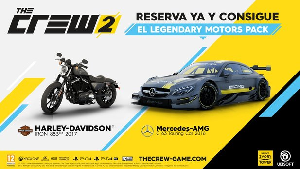 Das Legendary Motors Pack von The Crew 2.
