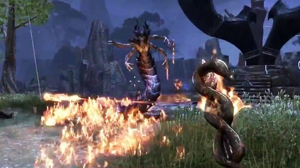 The Elder Scrolls Online - Gameplay-Trailer zum Gruppenspiel