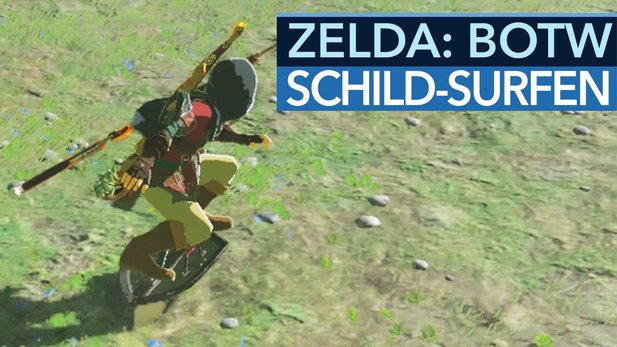 The Legend of Zelda: Breath of the Wild - Tipp-Video: So surft man auf dem Schild