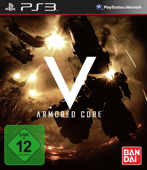 Cover zu Armored Core 5