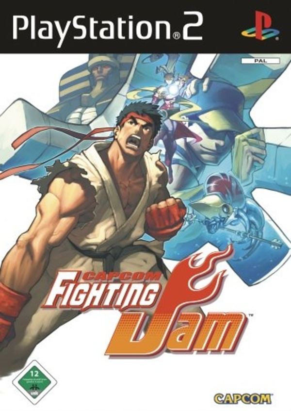 Cover zu Capcom Fighting Jam
