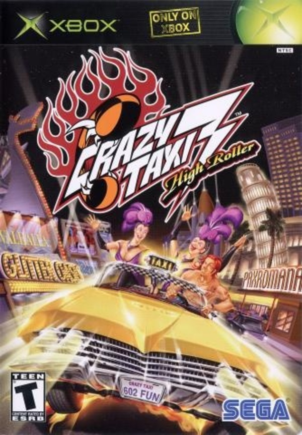 Cover zu Crazy Taxi 3
