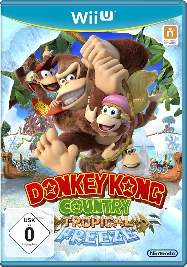 Cover zu Donkey Kong Country: Tropical Freeze