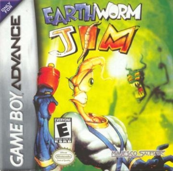 Cover zu Earthworm Jim