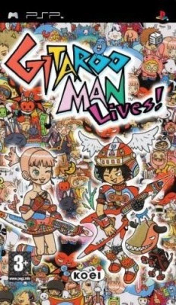 Cover zu Gitaroo Man Lives!