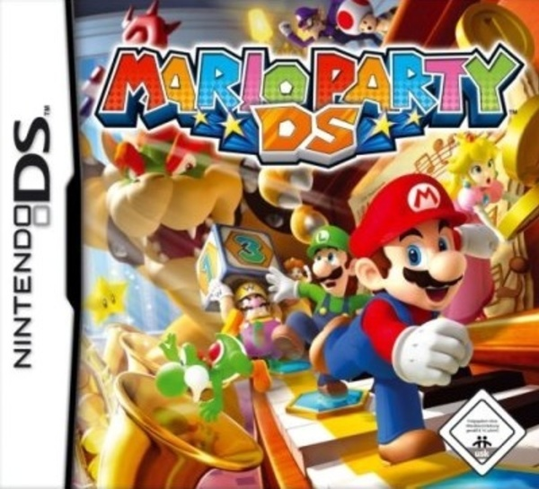 Cover zu Mario Party DS