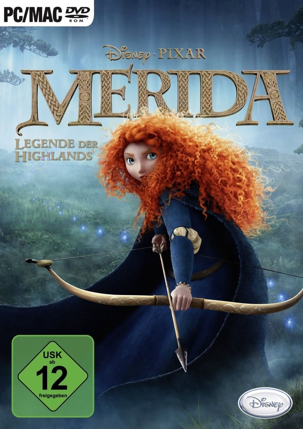 Cover zu Merida - Legende der Highlands
