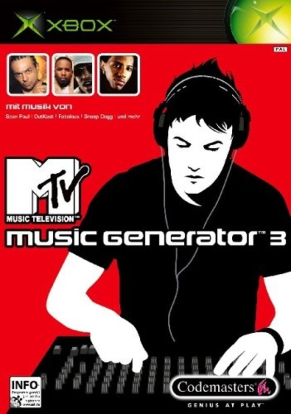 Cover zu MTV Music Generator 3: This is the Remix