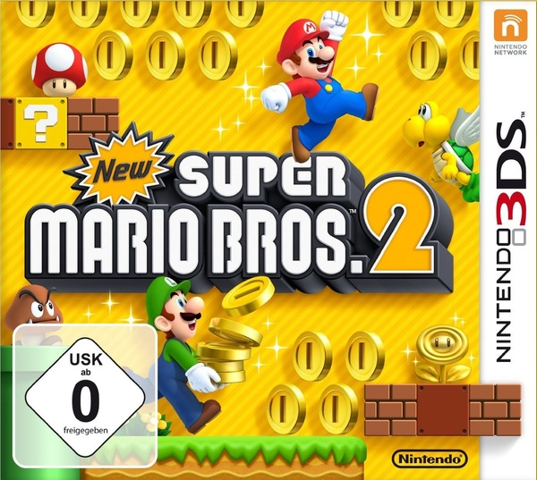 Cover zu New Super Mario Bros. 2
