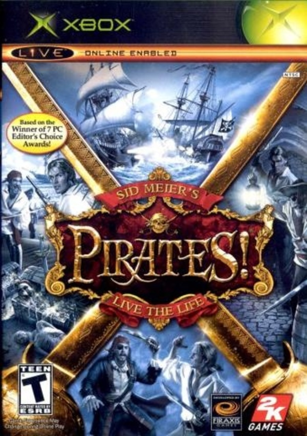 Cover zu Sid Meier's Pirates!