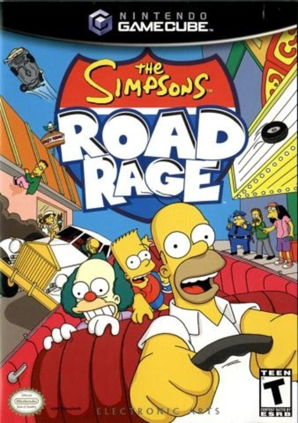 Cover zu The Simpsons: Road Rage