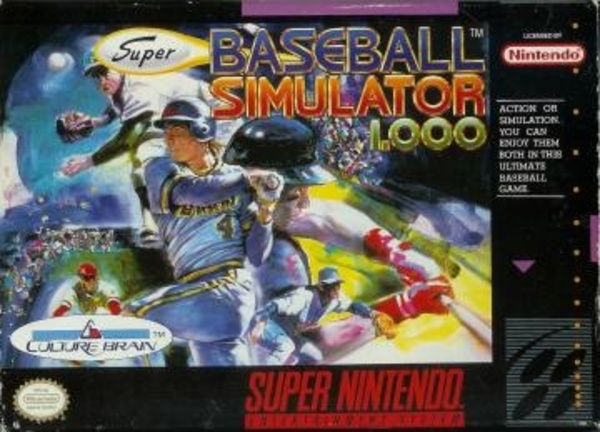Cover zu Super Baseball Simulator 1.000
