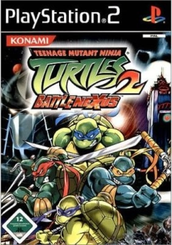 Cover zu Teenage Mutant Ninja Turtles 2: Battle Nexus