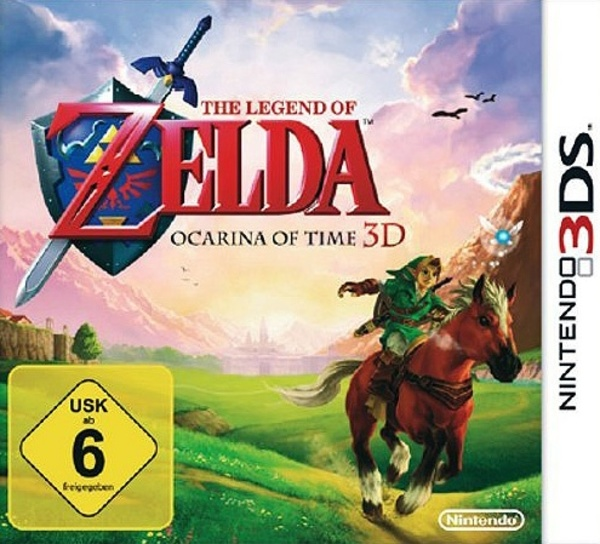 Cover zu The Legend of Zelda: Ocarina of Time 3D